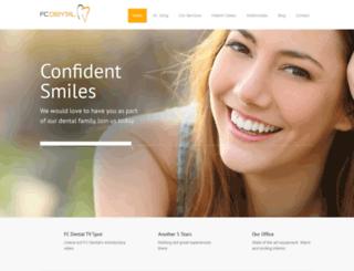 fcdental.com screenshot