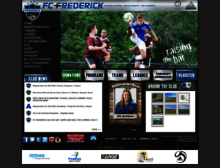 fcfrederick.com screenshot