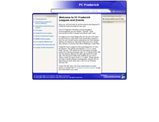 fcfrederick.demosphere.com screenshot