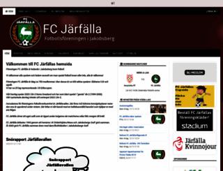 fcjarfalla.se screenshot