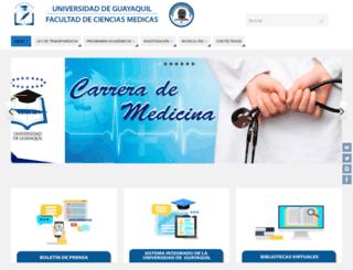 fcm.ug.edu.ec screenshot
