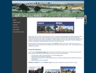 fcnc.clubexpress.com screenshot