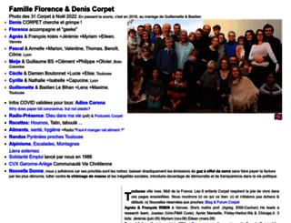 fcorpet.free.fr screenshot