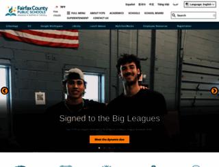 fcps.edu screenshot