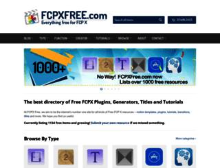 fcpxfree.com screenshot