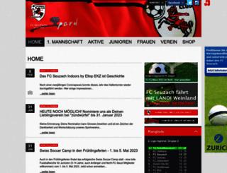 fcseuzach.ch screenshot