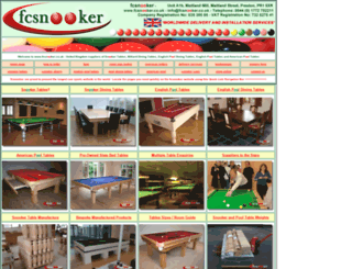 fcsnooker.co.uk screenshot