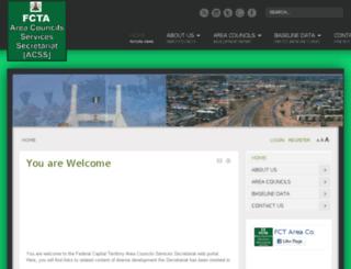 fctacss.org.ng screenshot