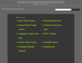 fctradecenter.com screenshot