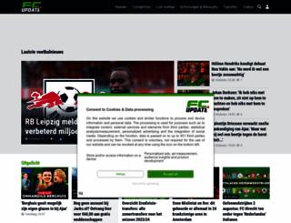 fcupdate.nl screenshot