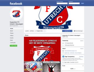 fcutrechtnieuwegein.com screenshot