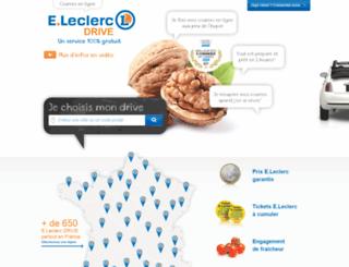 fd1-courses.leclercdrive.fr screenshot