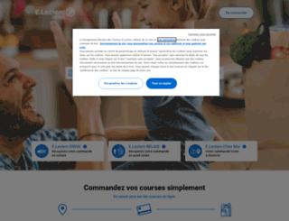 fd5-www.leclercdrive.fr screenshot