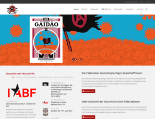 fda-ifa.org screenshot