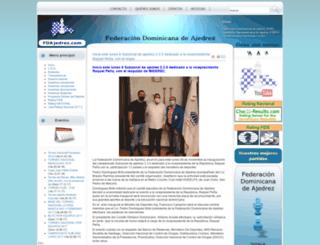 fdajedrez.com screenshot
