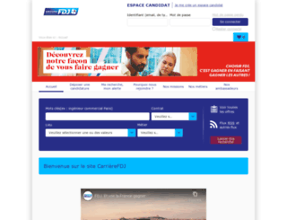 fdj.profils.org screenshot
