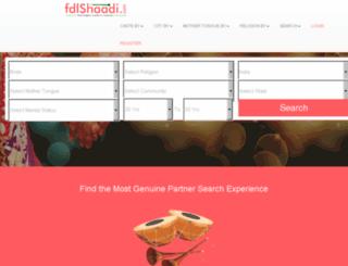 fdlshaadi.com screenshot