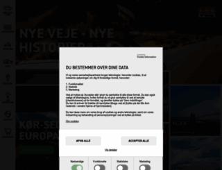 fdm-travel.dk screenshot