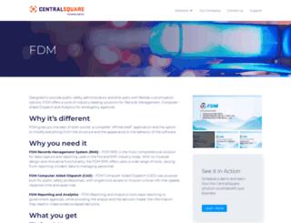 fdmsoft.com screenshot