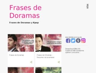 fdoramas.mx screenshot