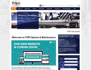 fdpi.com.au screenshot