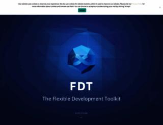 fdt.powerflasher.com screenshot