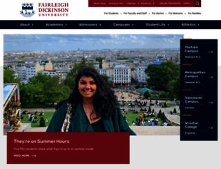 fdu.edu screenshot