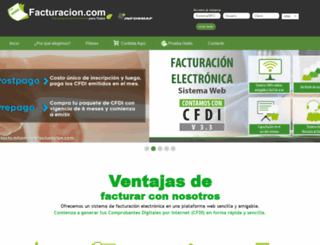fe.informap.com.mx screenshot