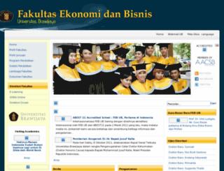 fe.unibraw.ac.id screenshot