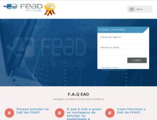 feadvirtual.com.br screenshot