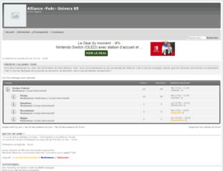 fear-uni65.forum-actif.net screenshot