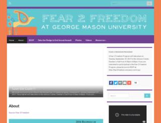 fear2freedom.onmason.com screenshot