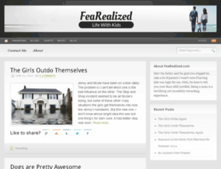 fearealized.com screenshot