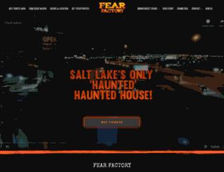 fearfactoryslc.com screenshot