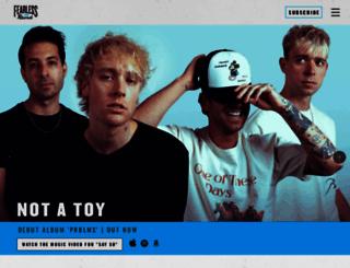 fearlessrecords.com screenshot