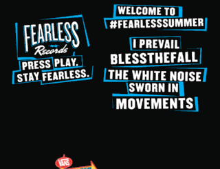 fearlesssummer.fearlessrecords.com screenshot