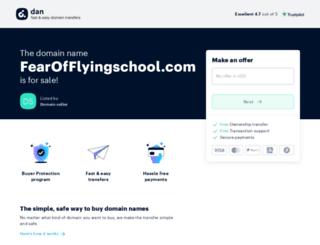fearofflyingschool.com screenshot