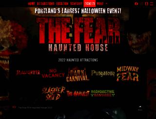 fearpdx.com screenshot