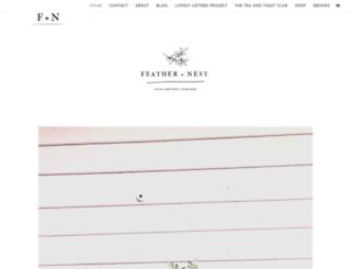 featherandnestkim.blogspot.co.nz screenshot