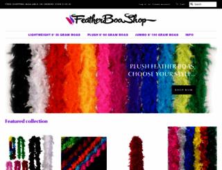featherboashop.com screenshot