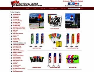 featherflags.com screenshot