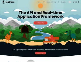 feathersjs.com screenshot