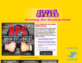 featured.digitalprunes.com screenshot