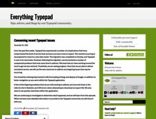 featured.typepad.com screenshot