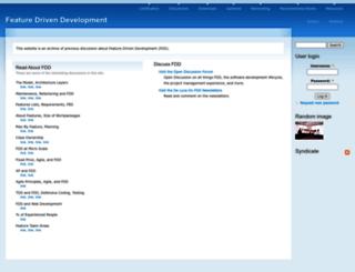 featuredrivendevelopment.com screenshot