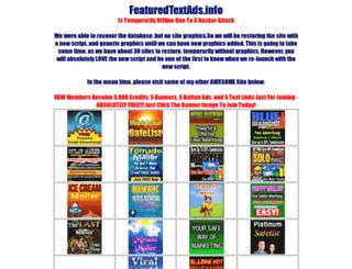 featuredtextads.info screenshot
