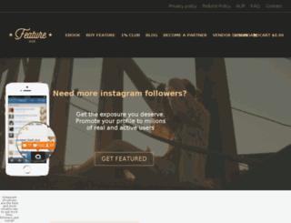 featurehub.com screenshot