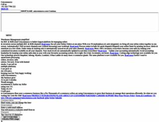 features.unicommerce.com screenshot