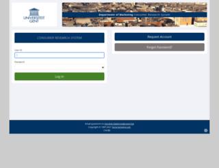 feb-ugent.sona-systems.com screenshot