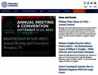 fedbar.org screenshot